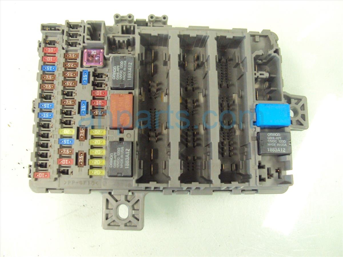 Honda Civic Fuse Box Replacement Worksheet And Wiring Diagram 1992 Ex Sedan 2013 Driver Dash 38200 Tr0 A22 Rh Ahparts Com 2007 2003
