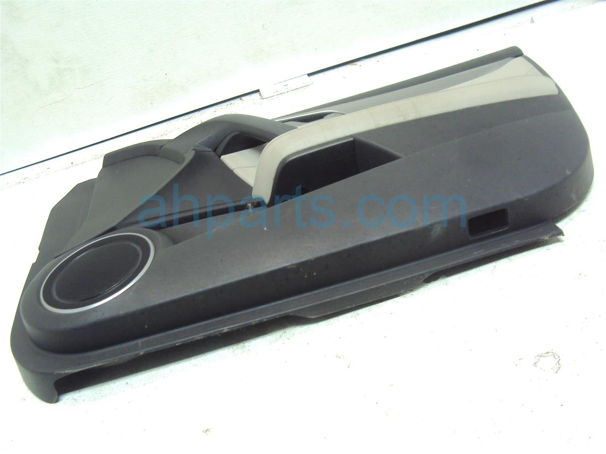 2009 Acura TL Trim / Liner Front Passenger Door Panel Complete Black 83501 TK4 A12ZE Replacement