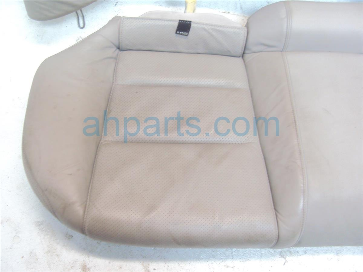 2009 Acura TL Back 2nd row REAR SEATS ASSEMBLY GRAY Replacement