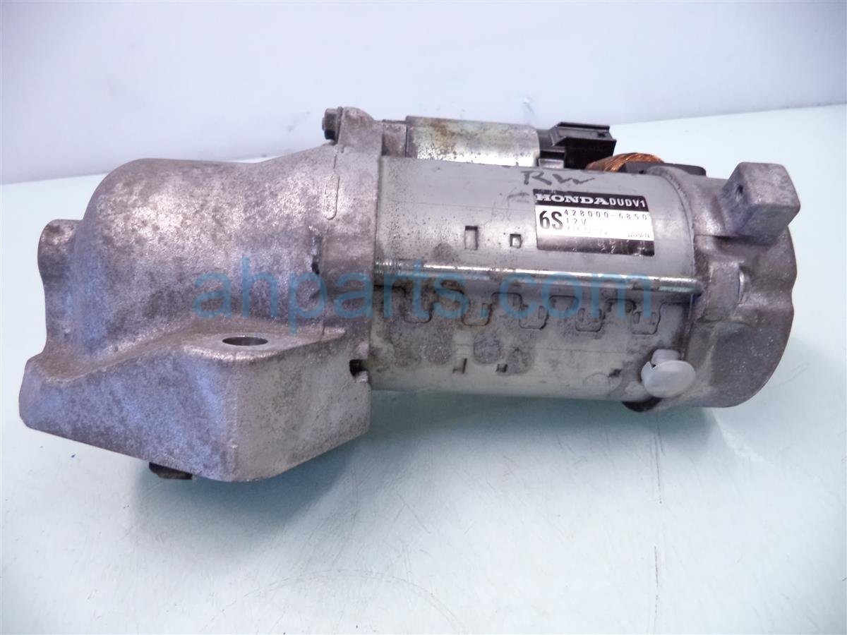2009 Acura TL Motor At Starter 31200 RK2 A01 Replacement