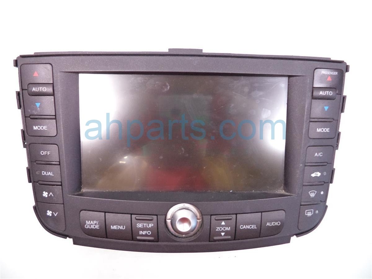 2008 Acura TL Navigation Screen 39051 SEP A62ZA, Replacement