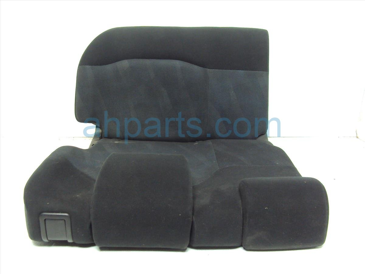 2011 Honda FIT Back (2nd Row) Rear Driver Seat Black Replacement