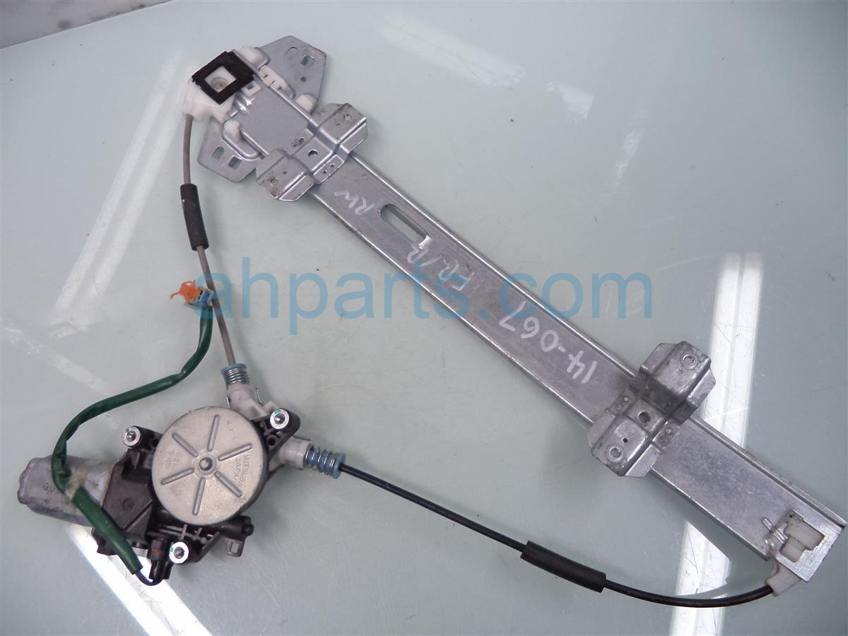 1999 Acura RL Front passenger WINDOW REGULATOR MOTOR tested 72210 SZ3 A22 72210SZ3A22 Replacement