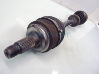 2008 Acura RL Front driver AXLE SHAFT Replacement