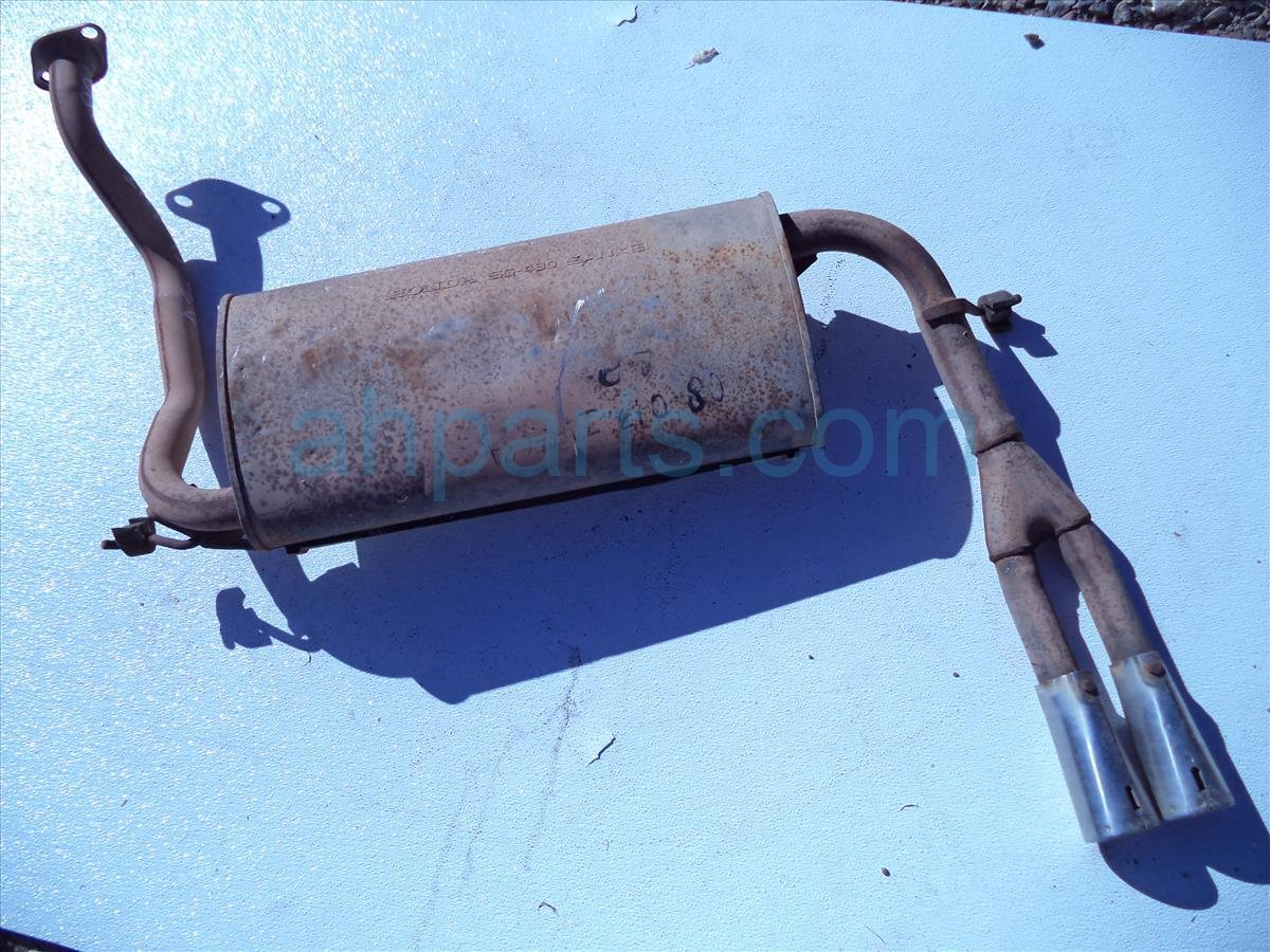 1990 Acura Integra EXHAUST MUFFLER some rust and damage Replacement