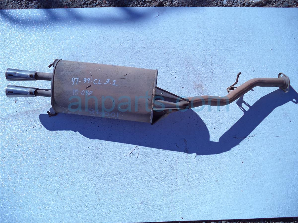 1999 Acura CL Exhaust Muffler Rust And Damage Replacement