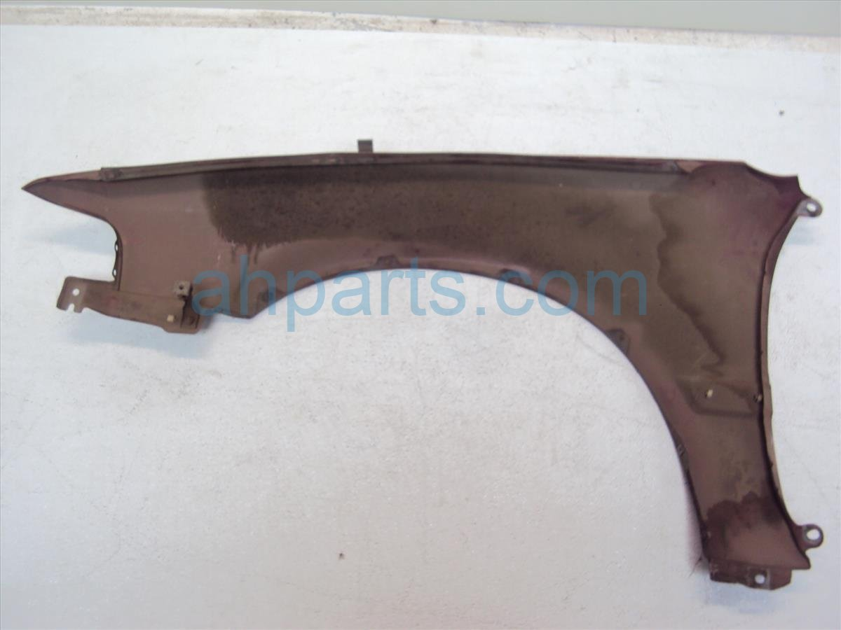 1993 Honda Accord Front Passenger FENDER burgandy Replacement