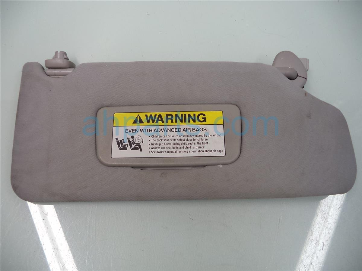 2005 Honda Accord Passenger Sun Visor, Gray Little Dirty Replacement