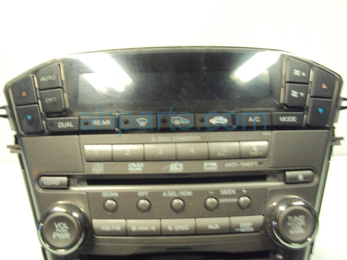 2007 Acura MDX Am/fm/6 Disc Cd & Radio  bad Cd 39011 STX A42 Replacement