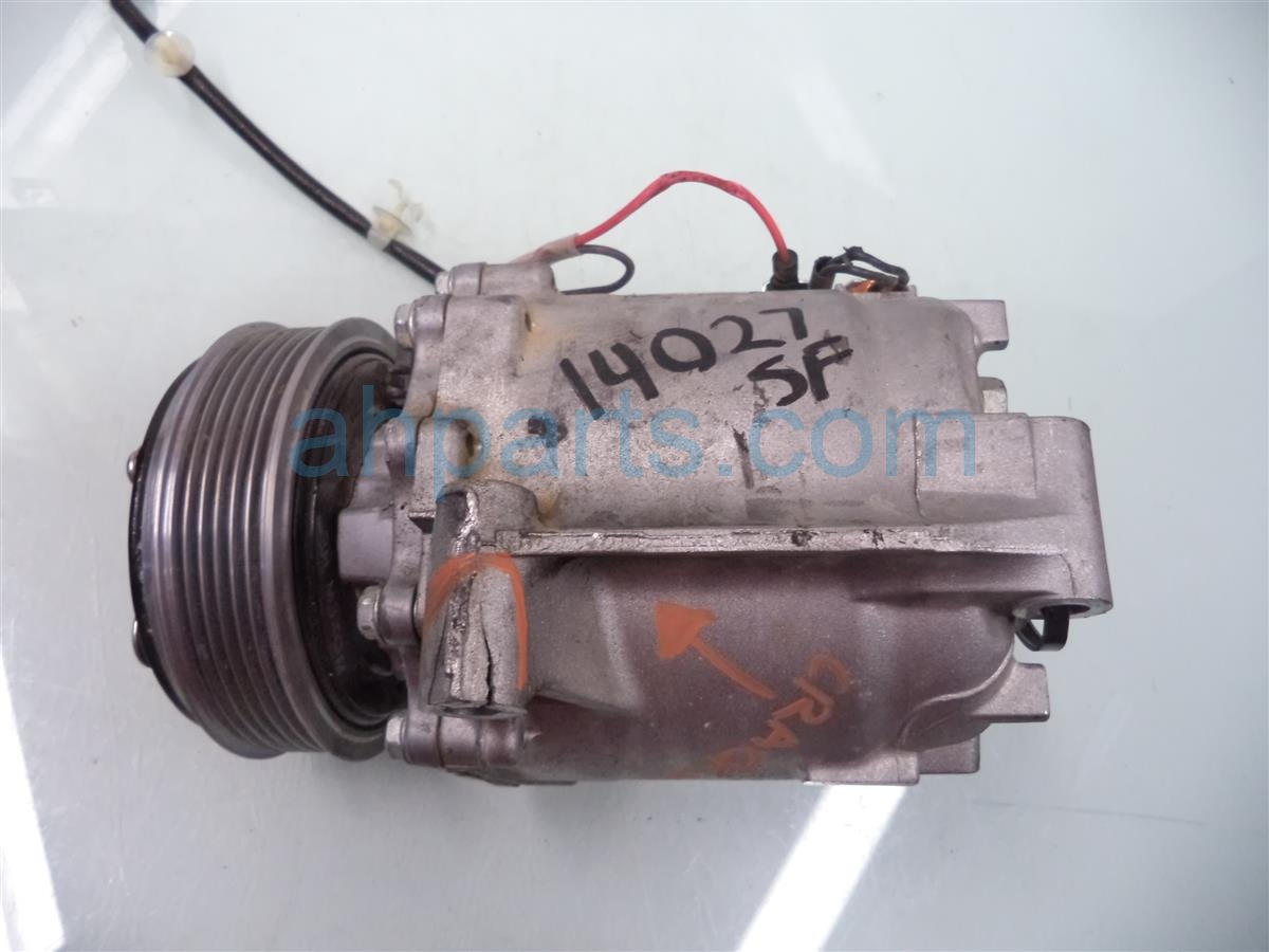 2013 Honda Civic Air Pump + Clutch Ac Compressor Replacement