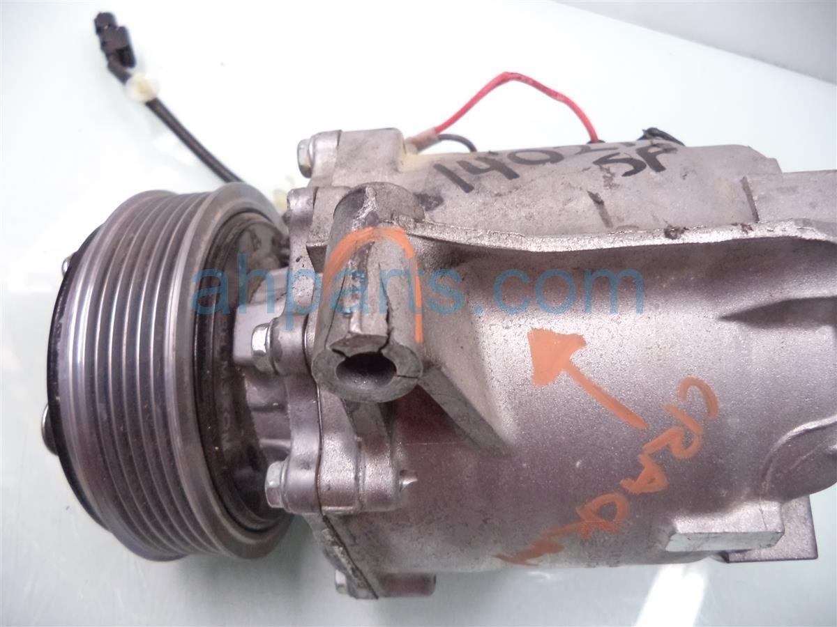 2013 Honda Civic Air pump clutch AC COMPRESSOR Replacement