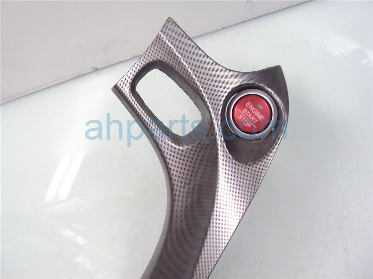 2009 Acura TL Driver RADIO TRIM silver stained 77299 TK4 A31ZA 77299TK4A31ZA Replacement