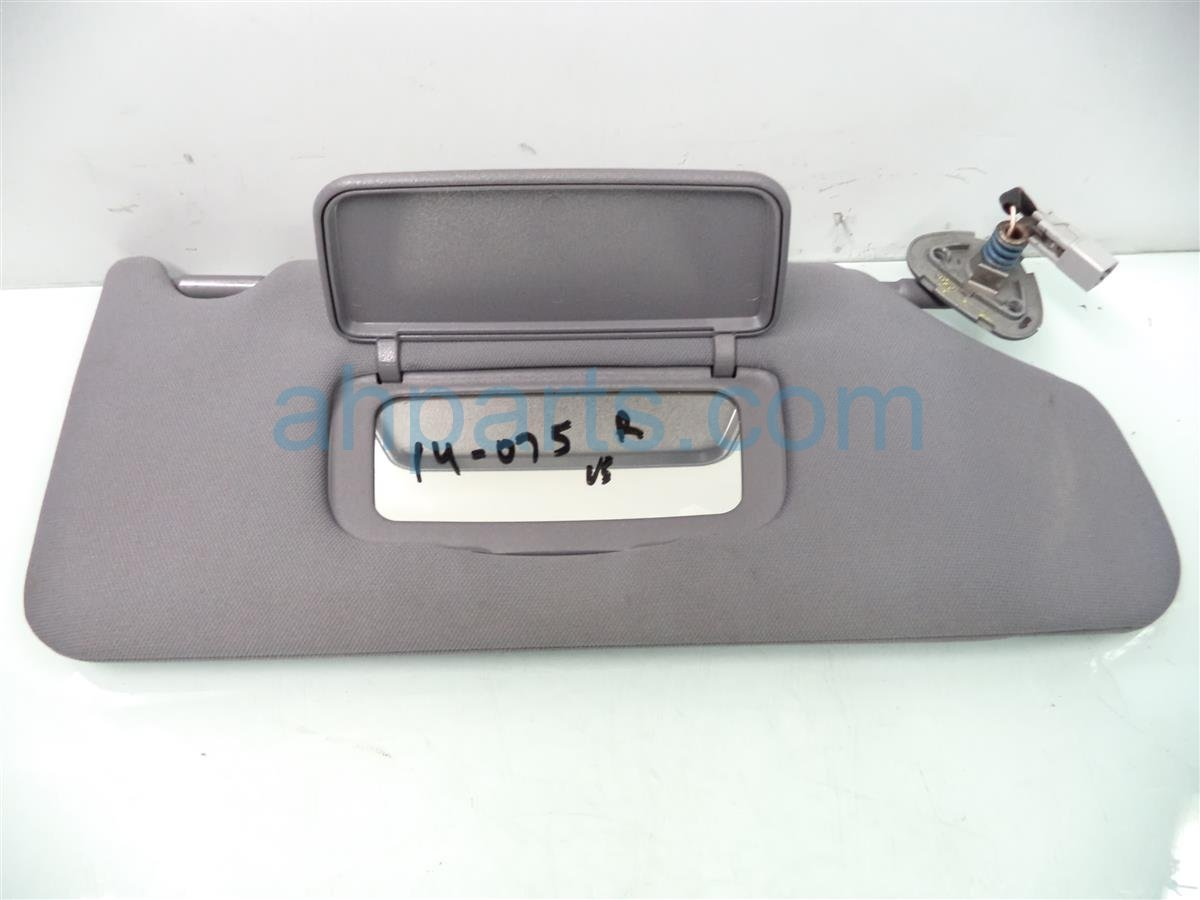 2007 Acura TL Passenger Sun Visor, Gray 83230 SEP A02 Replacement