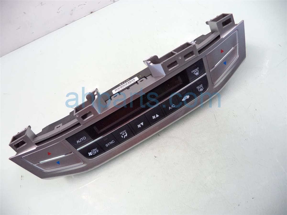 2013 Honda Accord Temperature Climate Heater/ac Control(on Dash) 79600 T2F A61ZA Replacement