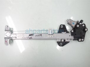 Rear driver WINDOW REGULATOR & MOTOR