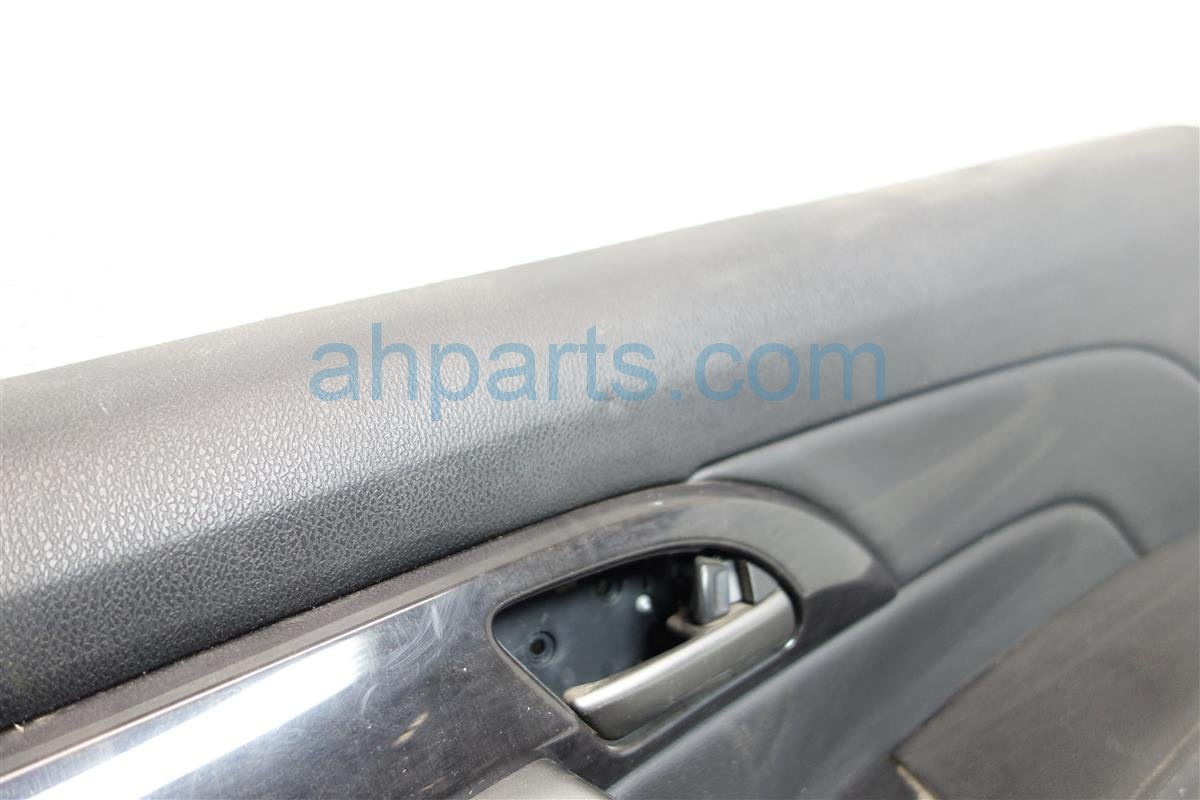 2008 Acura MDX Rear passenger DOOR PANEL TRIM LINER blk 83731 STX A02ZA 83731STXA02ZA Replacement
