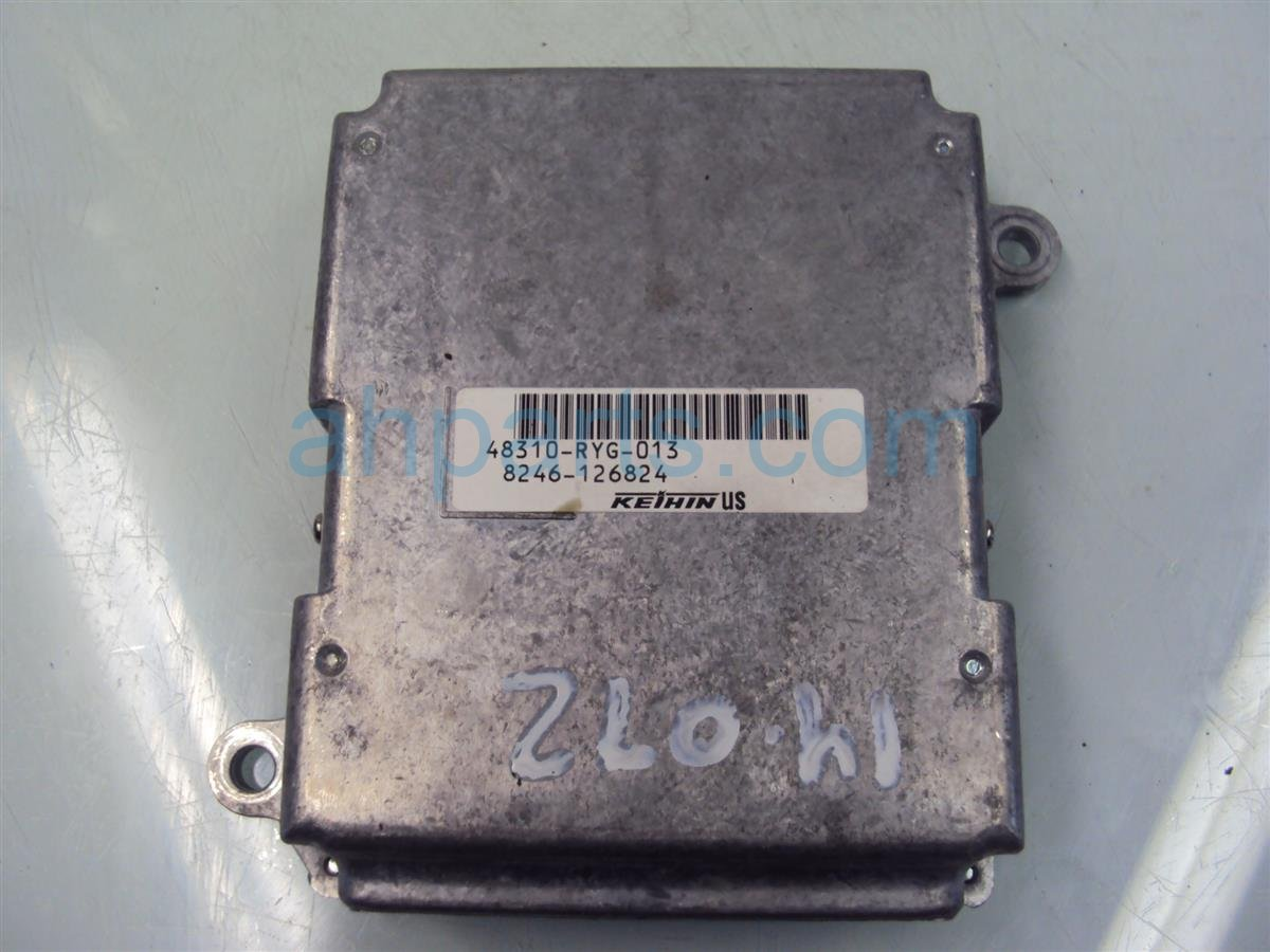 2007 Acura MDX Engine module computer ELECTRONIC CONTROL UNIT not ecu 48310 RYG 013 48310RYG013 Replacement