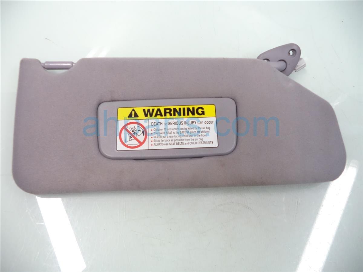 2001 Honda Accord Passenger Sun Visor, Gray 83230 S84 A03ZC Replacement