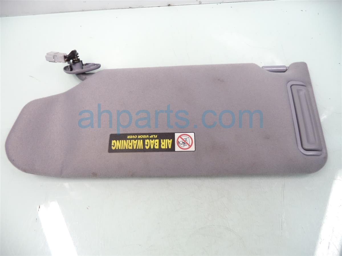 2001 Honda Accord Passenger SUN VISOR gray Replacement