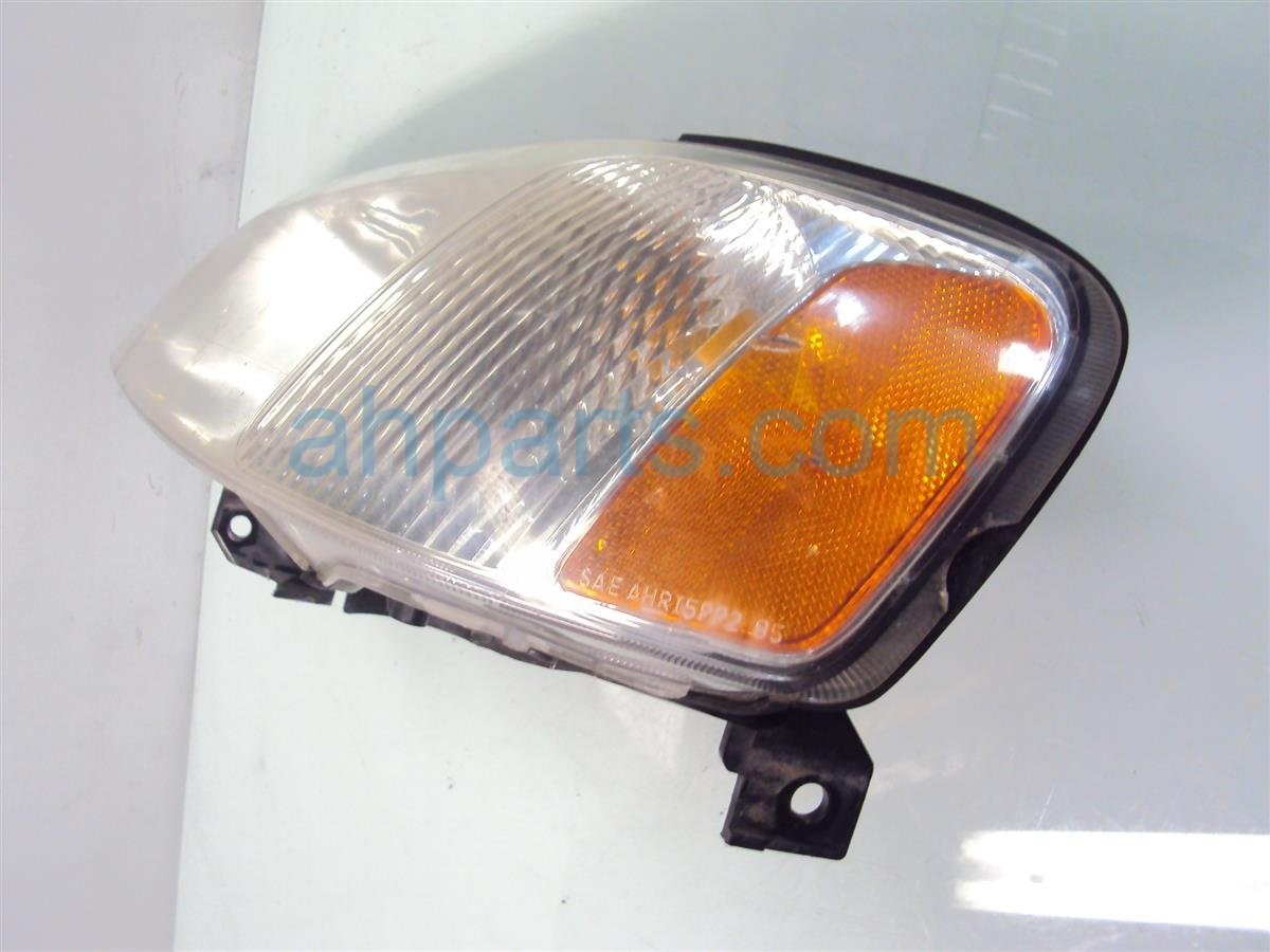 2000 Acura TL Lamp Driver Headlight, Lens Chipped On Edge 33151 S0K A01 Replacement