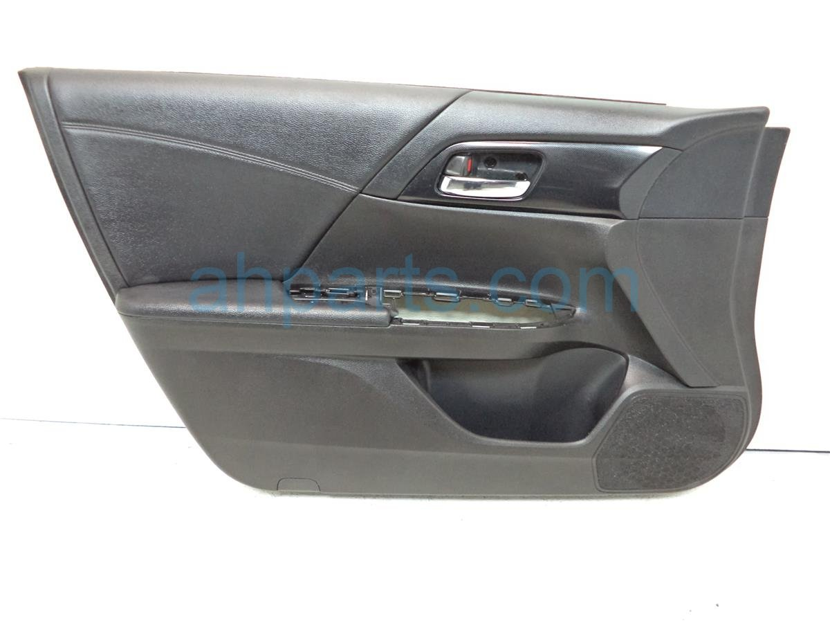 2013 Honda Accord Front Driver Door Panel (trim Liner), Replacement