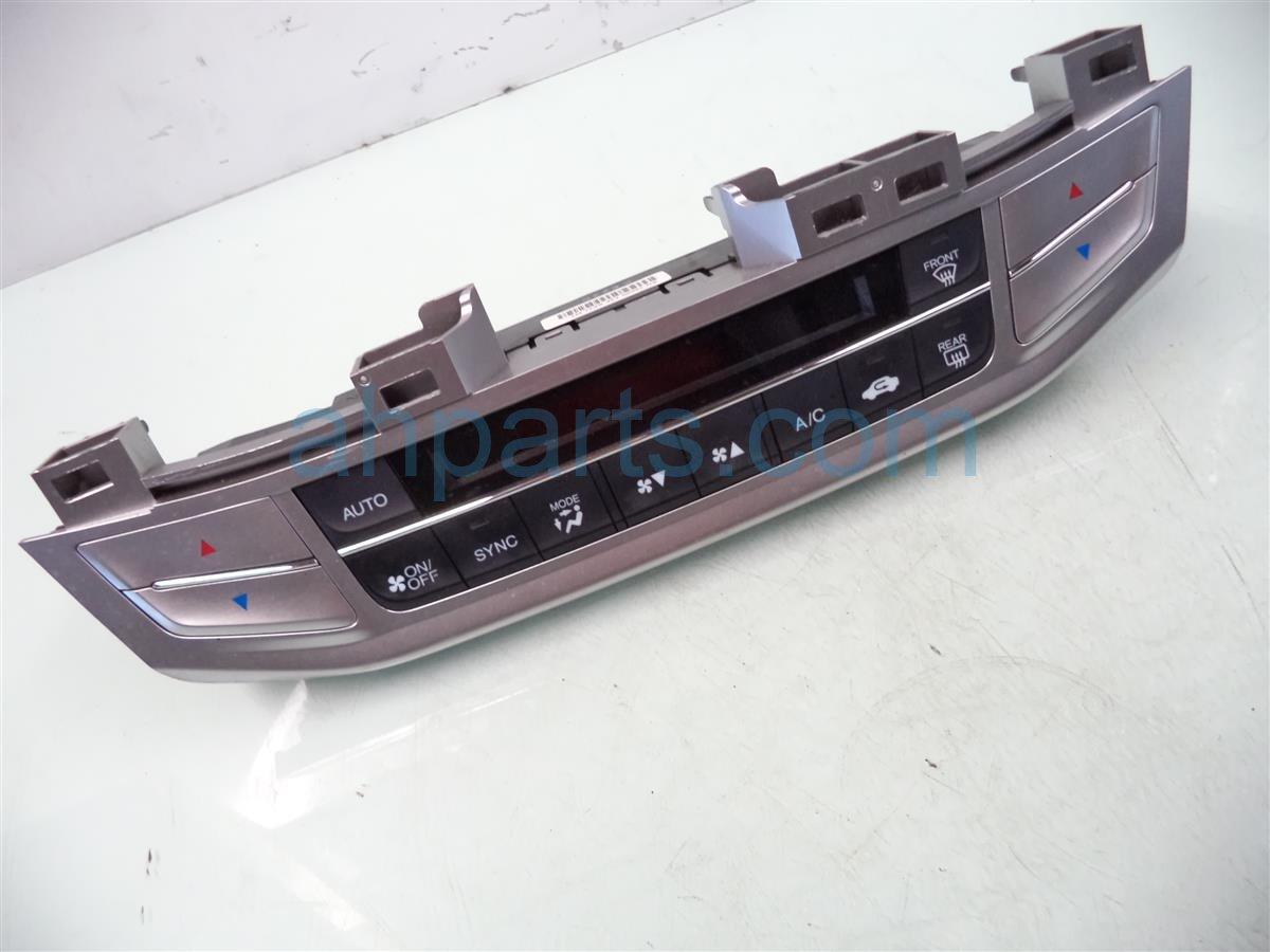 2013 Honda Accord Temperature Climate HEATER AC CONTROL ON DASH 79600 T2F A61ZA 79600T2FA61ZA Replacement
