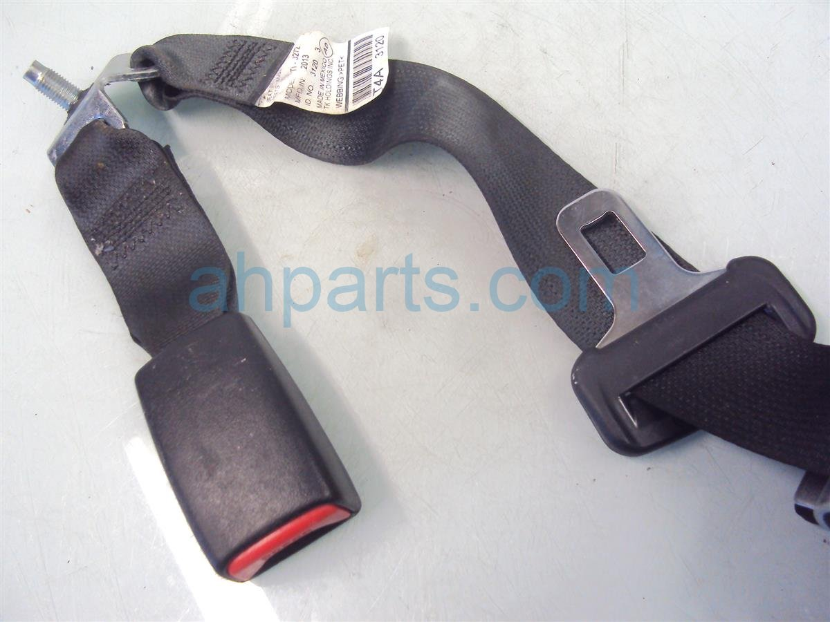 2013 Honda Accord Rear Rr/m Seat Belt Black 04823 T2F A00ZC Replacement