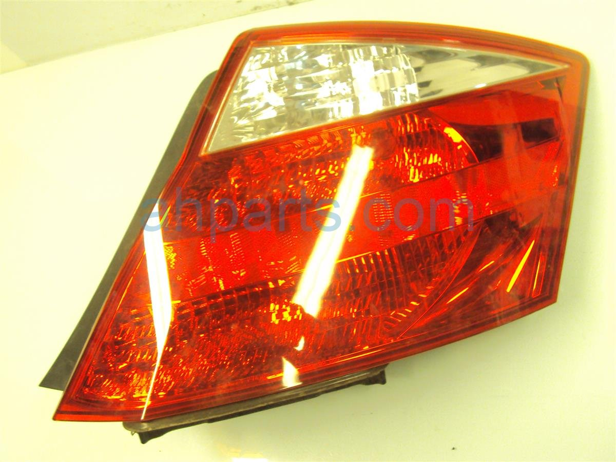2009 Honda Accord Rear Driver TAIL LAMP LIGHT ON BODY 33550 TE0 A01 33550TE0A01 Replacement