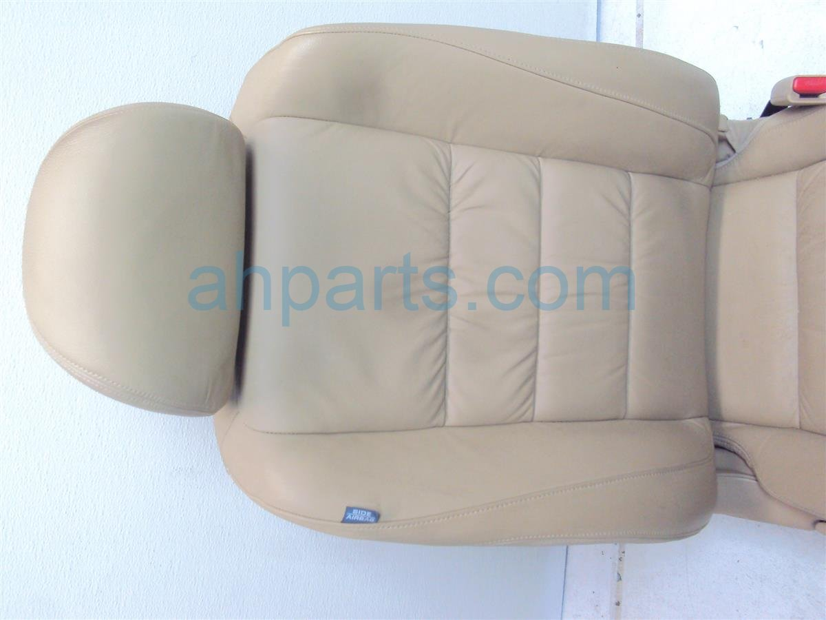 2009 Honda Accord Front passenger SEAT tan leather no airbag 04811 TE0 A40ZB 04811TE0A40ZB Replacement