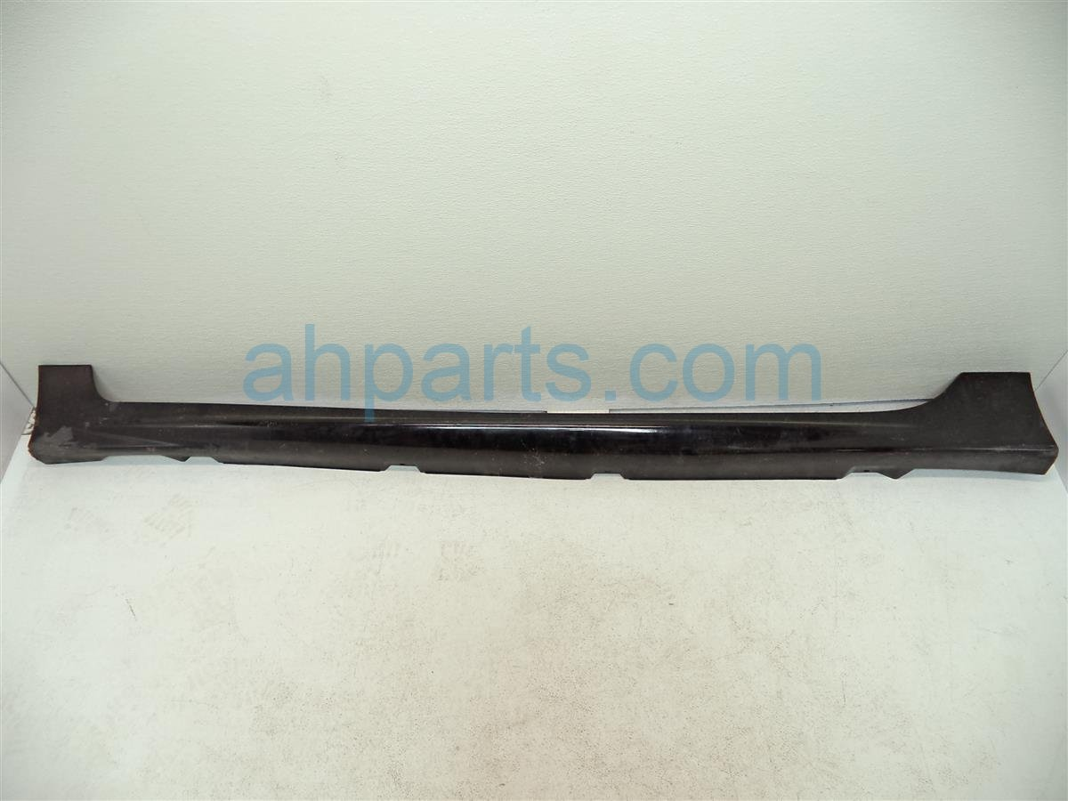 2011 Honda Civic Rocker molding trim Driver SIDE SKIRT black paint chip SI 08F04 SNA 1Y0 08F04SNA1Y0 Replacement