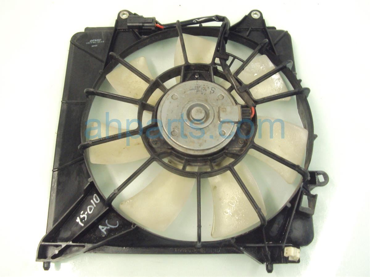 2011 Honda Insight Cooling AC CONDENSER FAN ASSEMBLY 38611 RBB 003 38611RBB003 Replacement