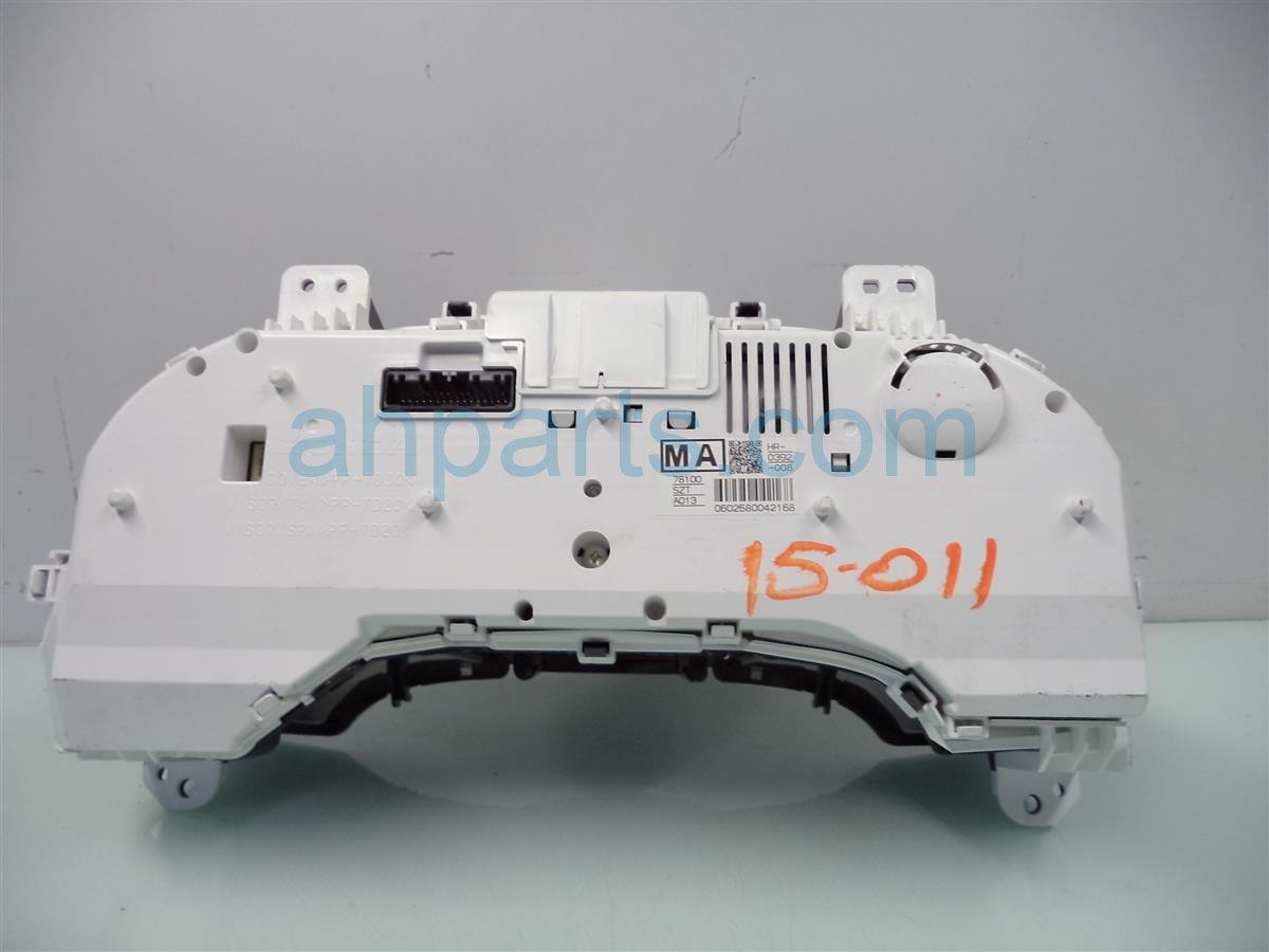 2011 Honda CR Z Instrument Gauge SPEEDOMETER CLUSTER 41K 78100 SZT A01 78100SZTA01 Replacement