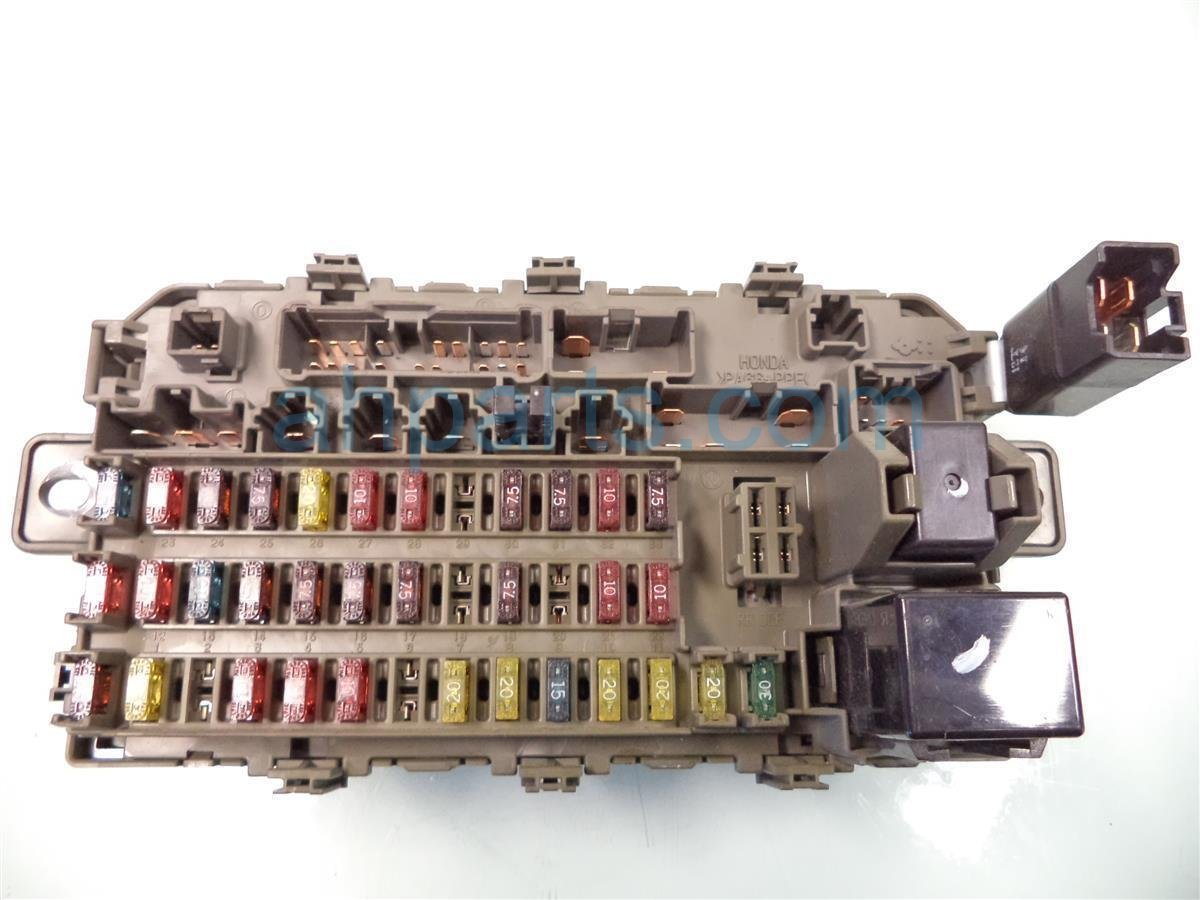 Acura Tl Fuse Box Diagram Image Details | Wiring Liry on