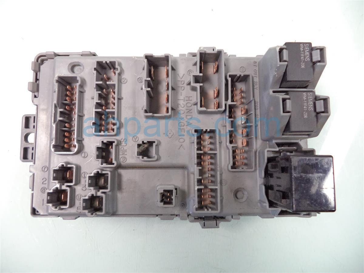 2010 Honda Insight DASH FUSE BOX 38200 TM8 A21 38200TM8A21 Replacement