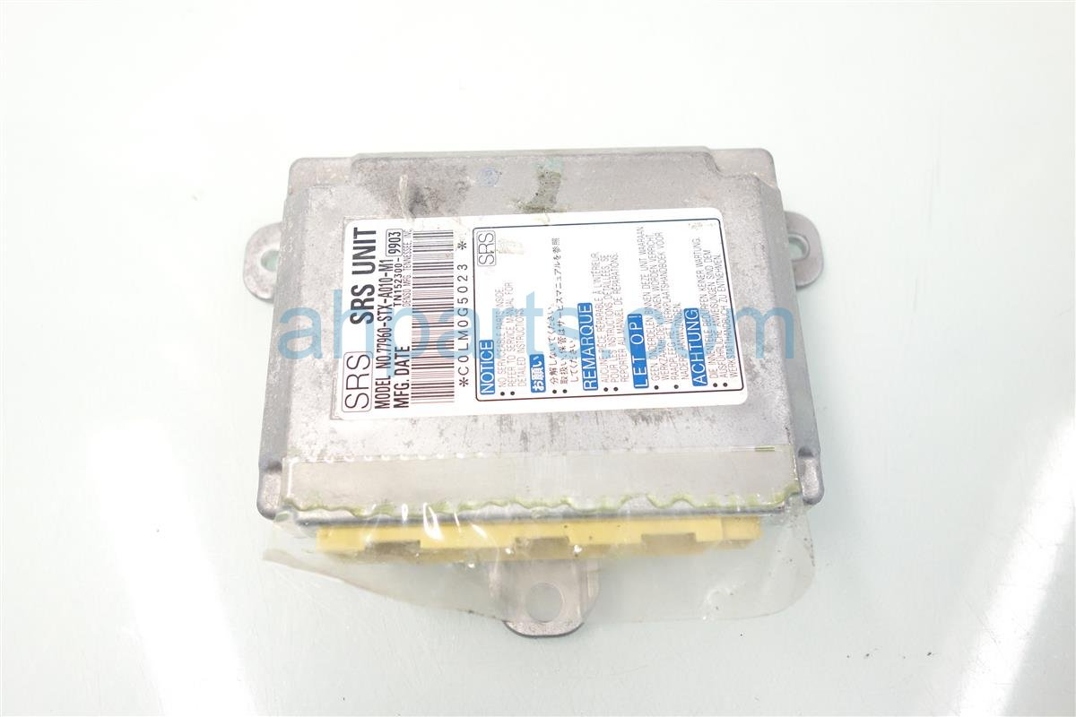 2007 Acura MDX SRS AIRBAG COMPUTER MODULE bad Replacement