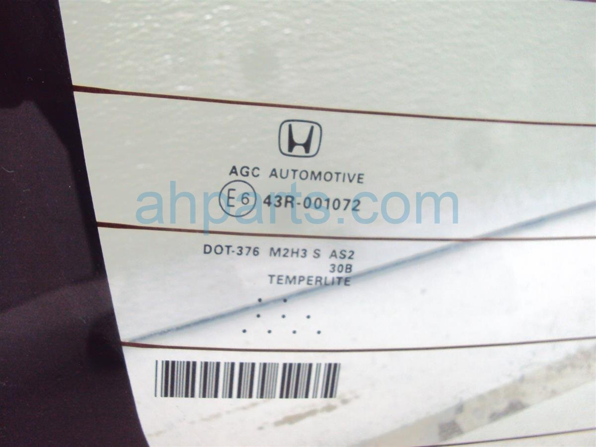 2013 Honda Civic Rear BACK GLASS WINDSHIELD Replacement