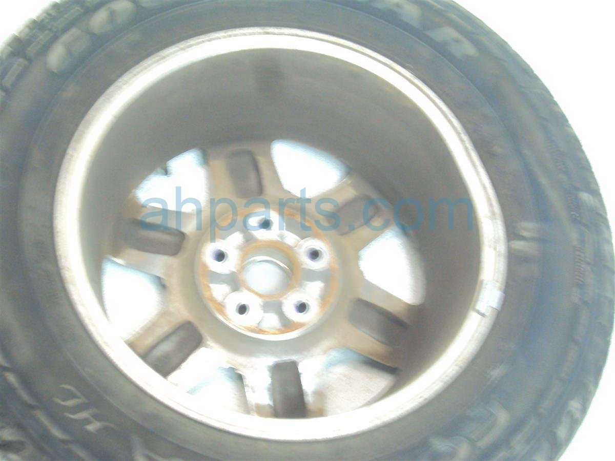 2011 Honda Pilot Wheel Rear driver RIM 17 INCH 6 SPOKE 42700 SZA A61 42700SZAA61 Replacement