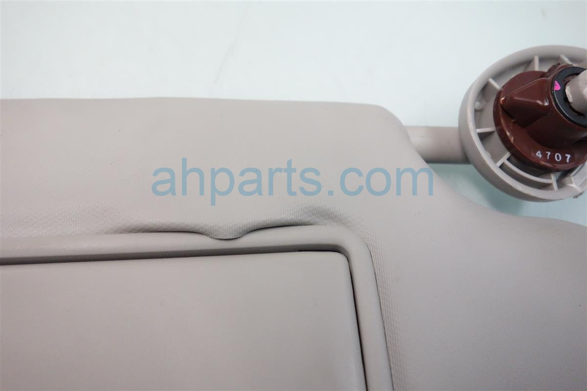 2015 Honda FIT Passenger SUN VISOR STITCHES COMING OUT 83230 T5R A01ZA 83230T5RA01ZA Replacement