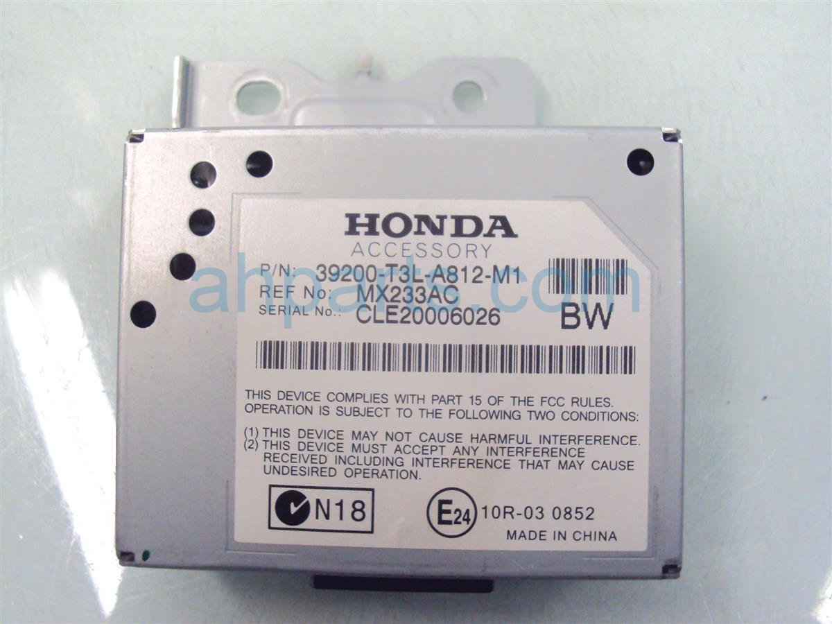 2013 Honda Accord ACTIVE NOISE CONTROL UNIT 39200 T3L A81 39200T3LA81 Replacement