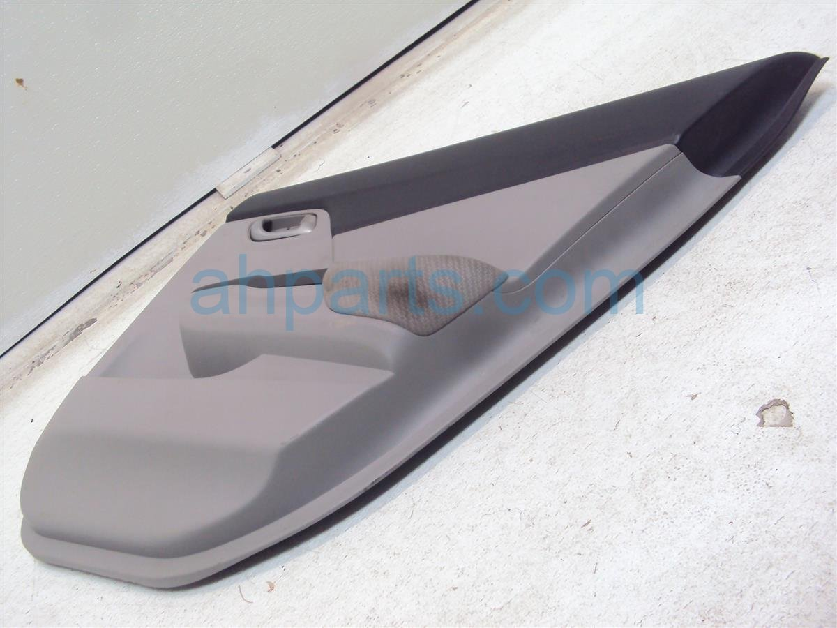 2013 Honda Civic Trim liner Rear passenger DOOR PANEL GRAY complete 83700 TR3 A21ZC 83700TR3A21ZC Replacement