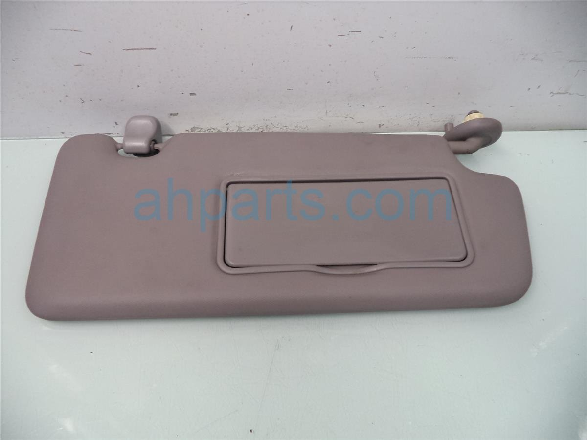 2013 Honda Civic Passenger Sun Visor Gray 83230 TR0 A02ZB Replacement