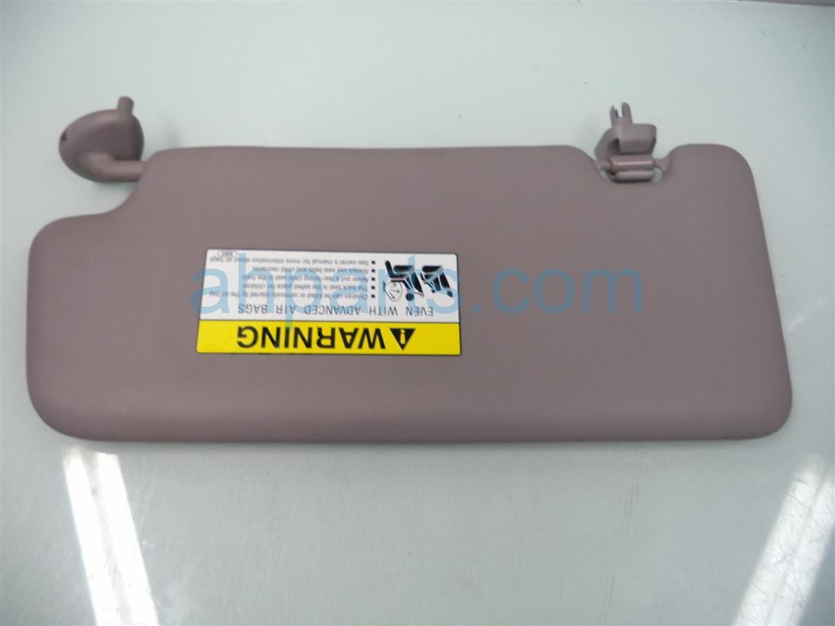 Buy 24 2013 Honda Civic Passenger Sun Visor Gray 83230