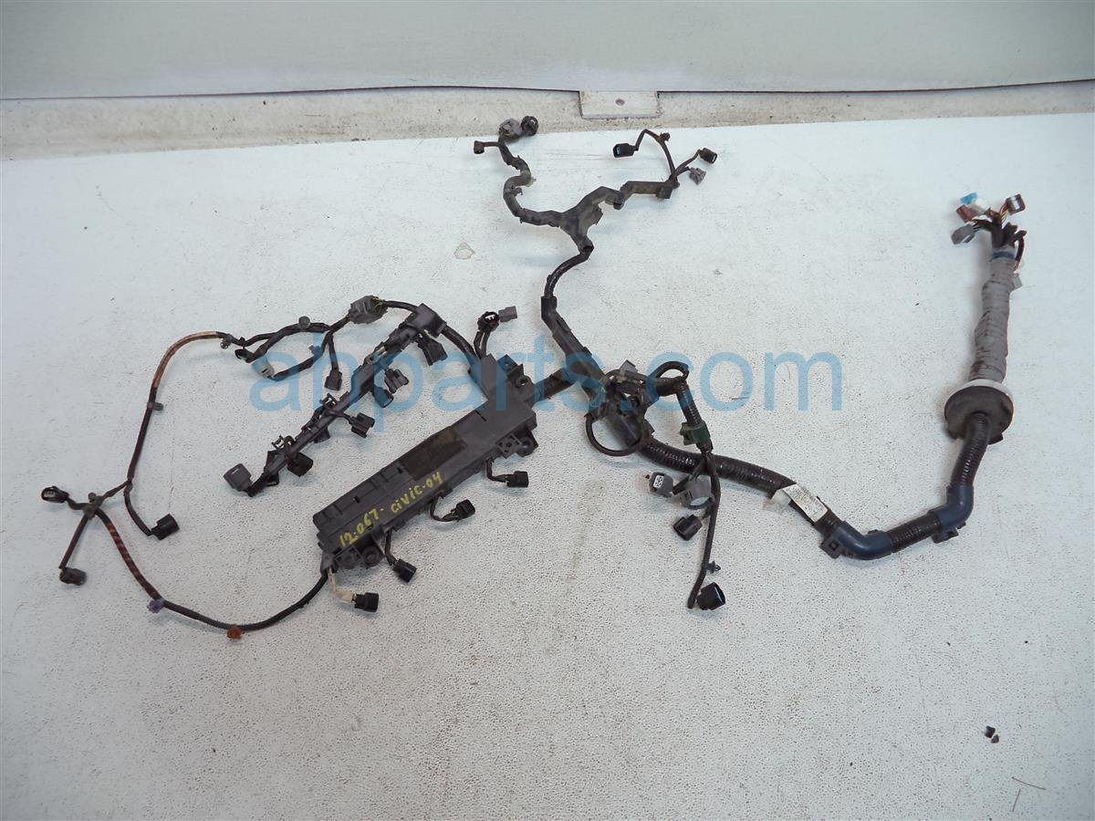 Wiring Harness 1996 Honda Civic Ex Sedan Start Building A Accord Engine 2004 Wire 32110 Pza A50 Rh Ahparts Com Drivers Door