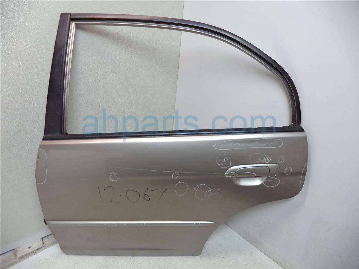 2004 Honda Civic HYBRID Rear driver DOOR SHELL 32754 S5A 000 32754S5A000 Replacement