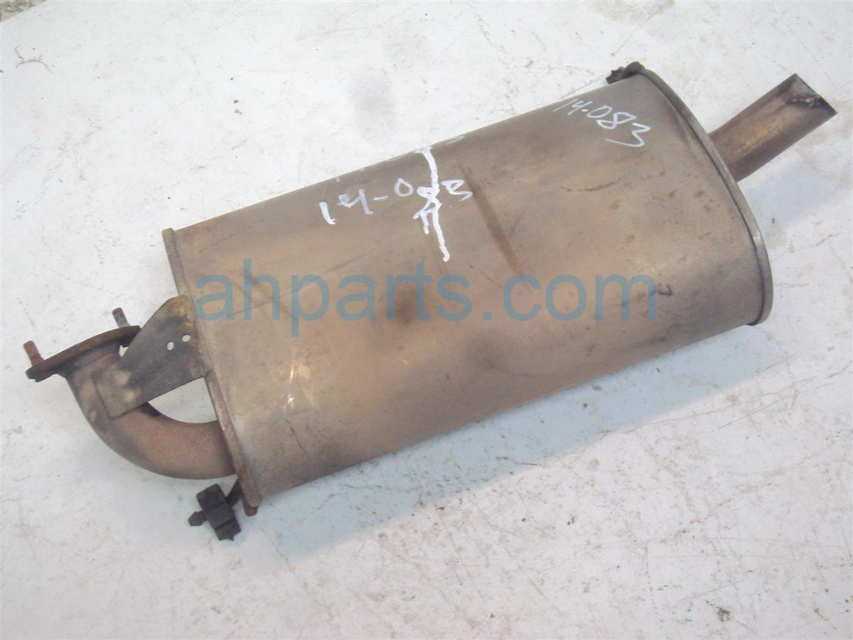 2001 Honda Accord Ex Muffler, Bent Tip 18030 S84 A11 Replacement