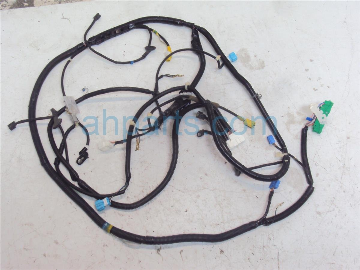 2011 Honda CR Z DRIVER SIDE WIRE HARNESS FLOOR 32107 SZT A00 32107SZTA00 Replacement