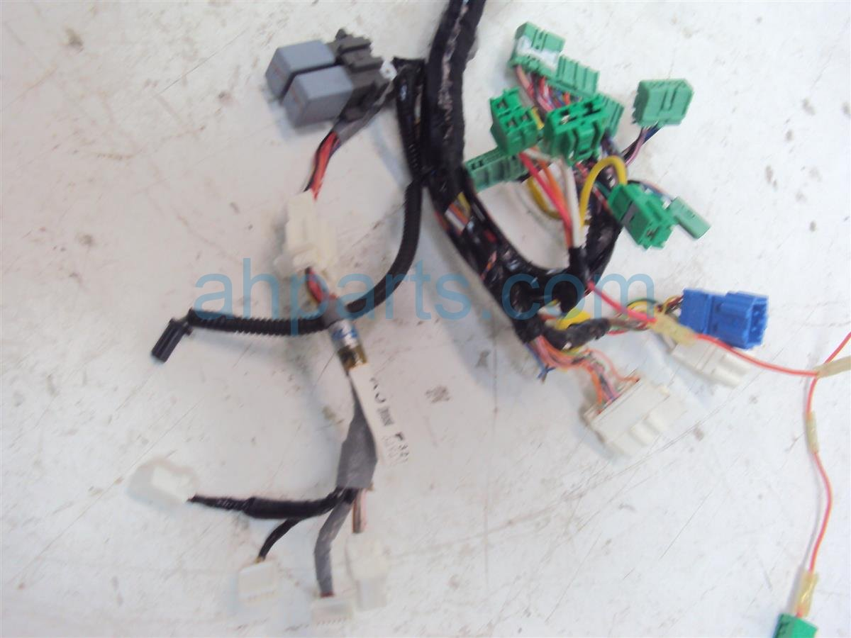 2011 Honda CR Z Instrument Wire Harness 32117 SZT A10 Replacement