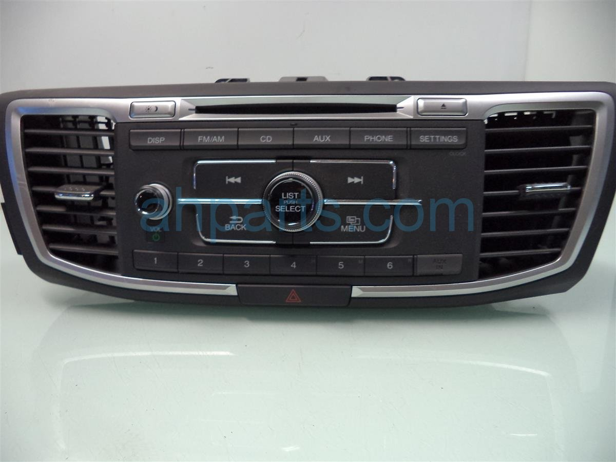 2014 Honda Accord AM FM 6 DISC CD RADIO 39170 T2A A22 39170T2AA22 Replacement