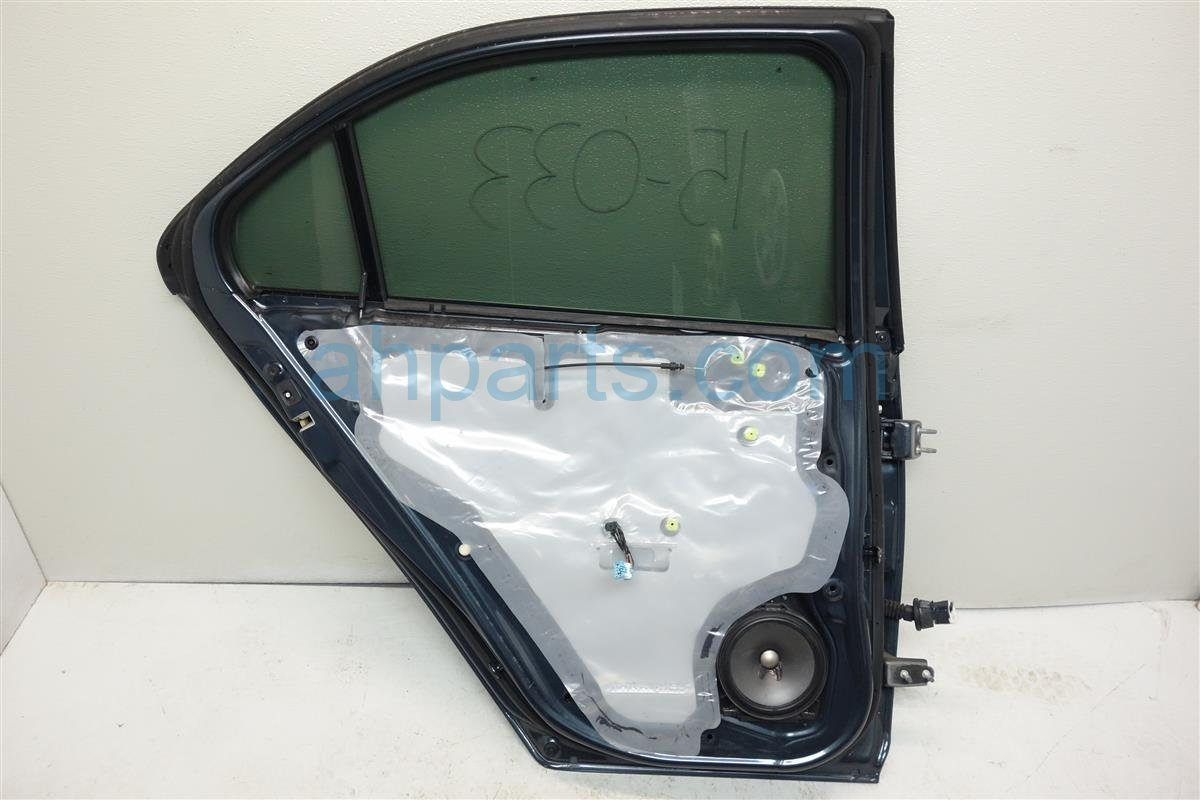 2008 Acura TSX Rear driver DOOR GRAY Replacement