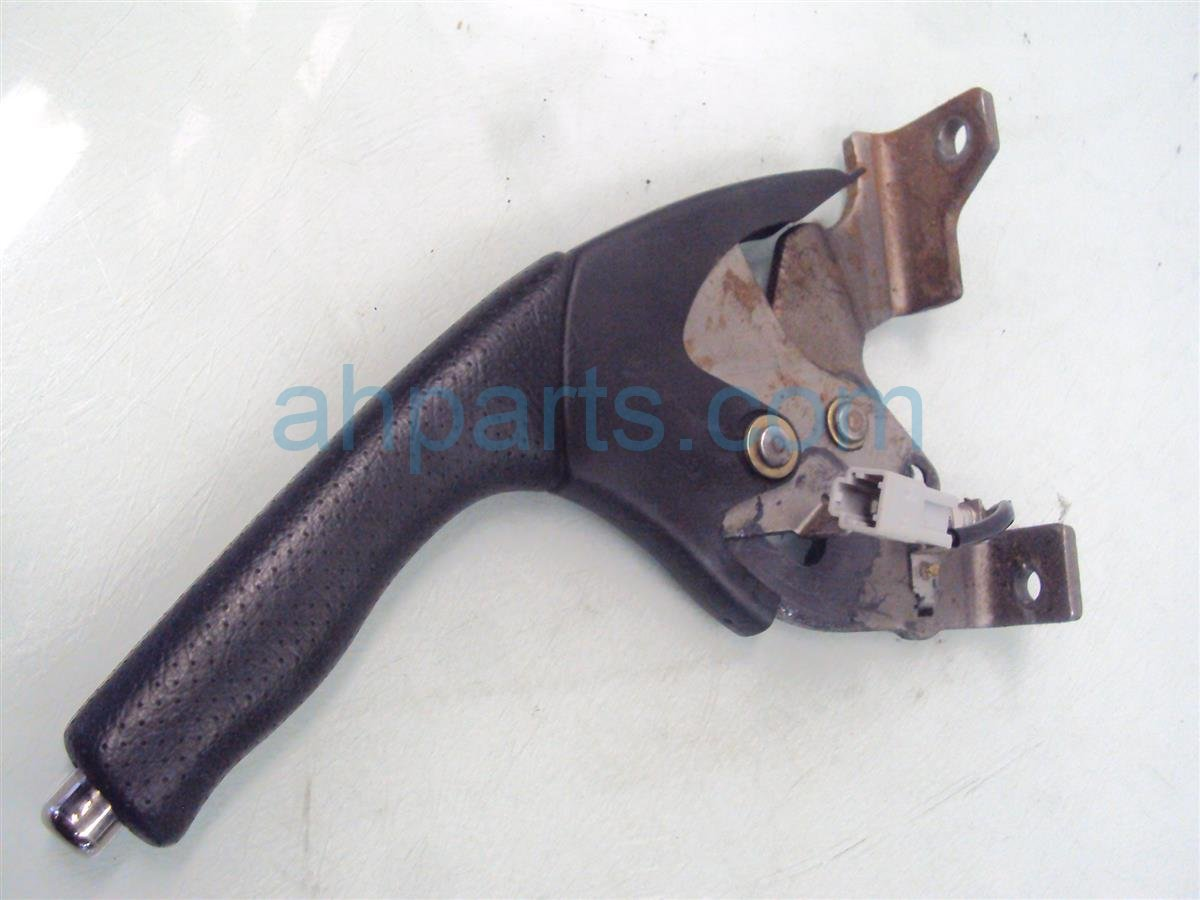 2004 Honda S2000 E BRAKE LEVER BLK LEATHER NICE 47105 S2A A10ZA 47105S2AA10ZA Replacement